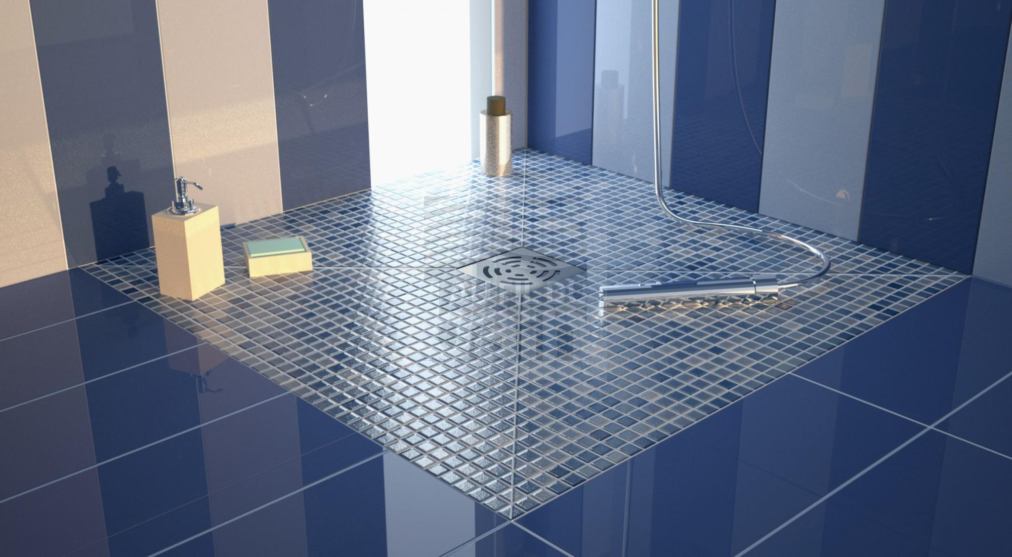 receveur de douche panodur avec bonde pour douche a l. Black Bedroom Furniture Sets. Home Design Ideas