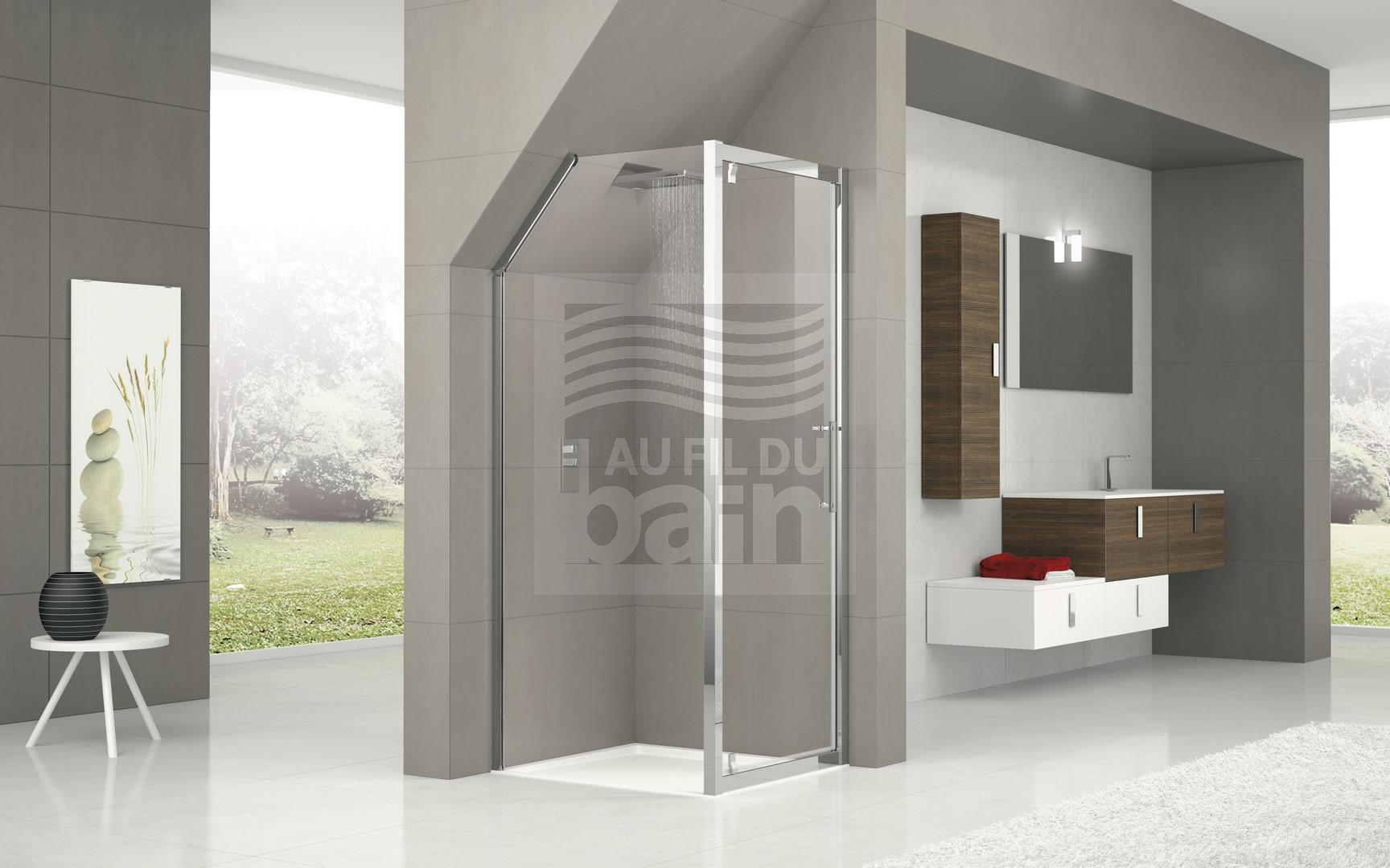parois de douche sur mesure magasin pour vente de meubles de salle de bains marseille tosolini. Black Bedroom Furniture Sets. Home Design Ideas