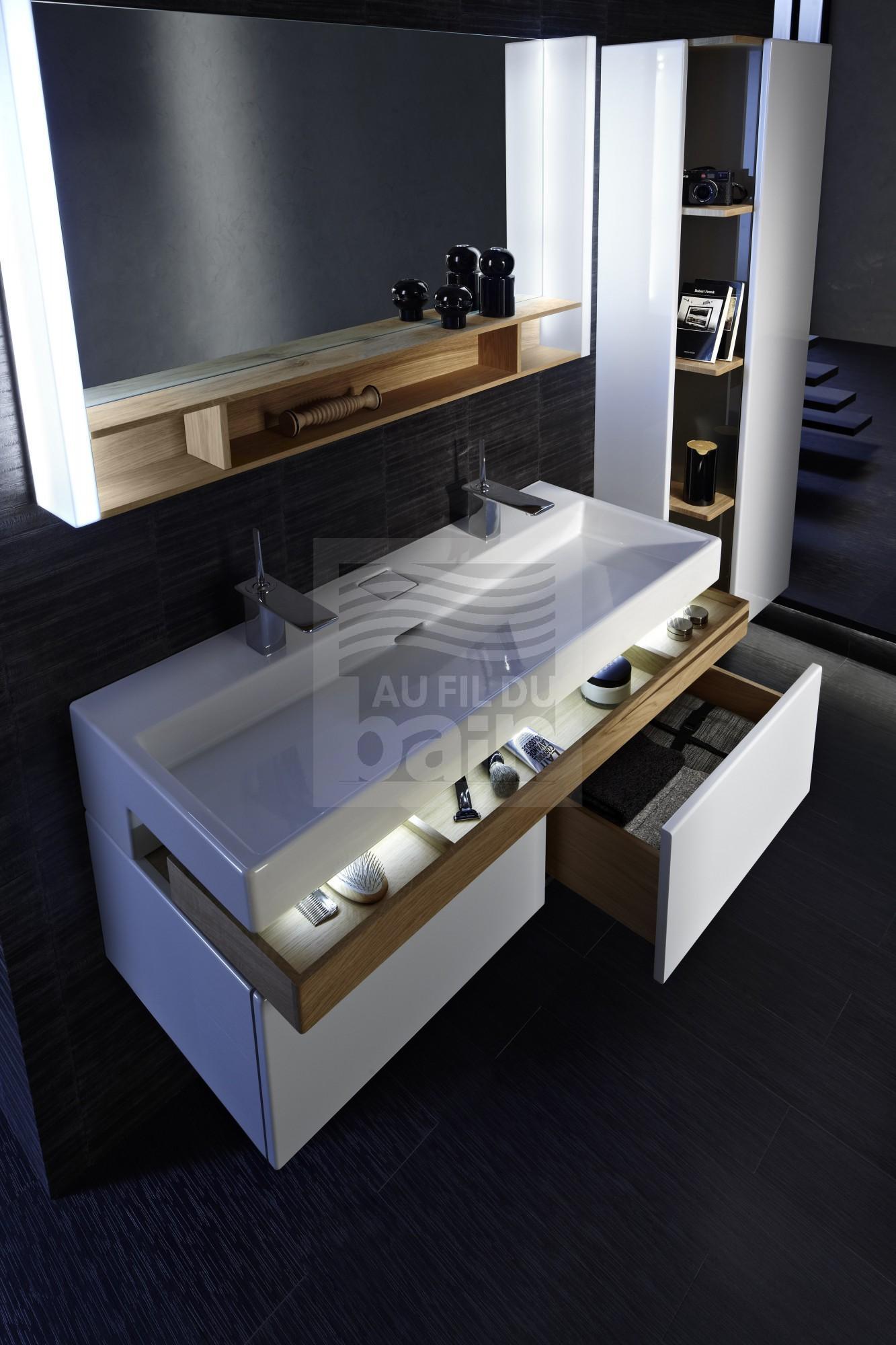 Meubles de salle de bains suspendus simple vasque ceramique jacob delafon magasin pour vente - Magasin pour salle de bain ...