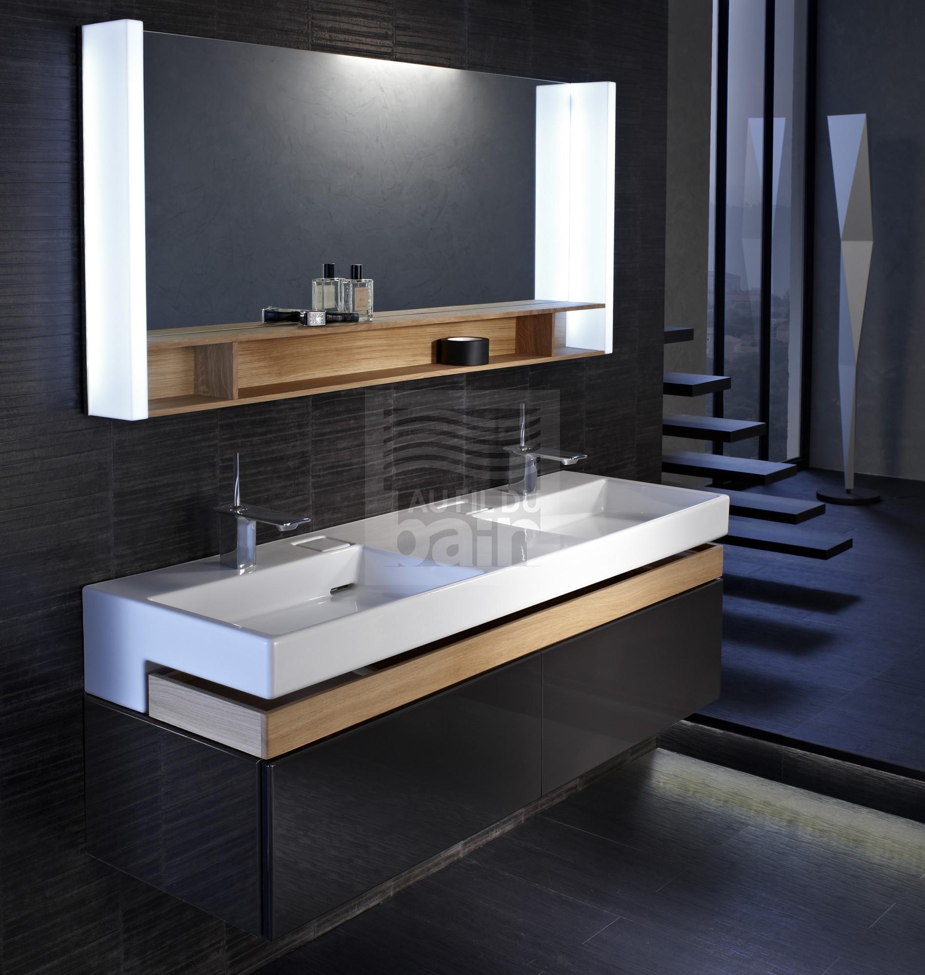 Plans vasque ceramique double magasin pour vente de meubles de salle de bains marseille tosolini - Meuble salle de bain double vasque pas cher ...