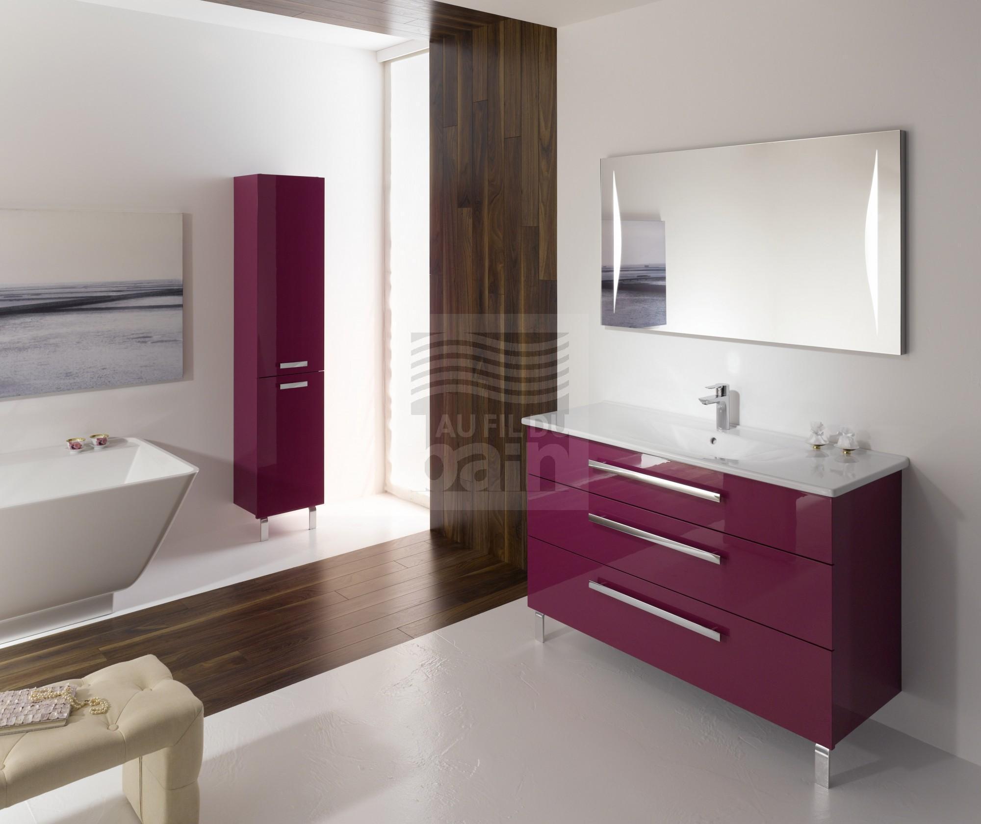 meubles de salle de bains sur pieds simple vasque ceramique burgbad magasin pour vente de
